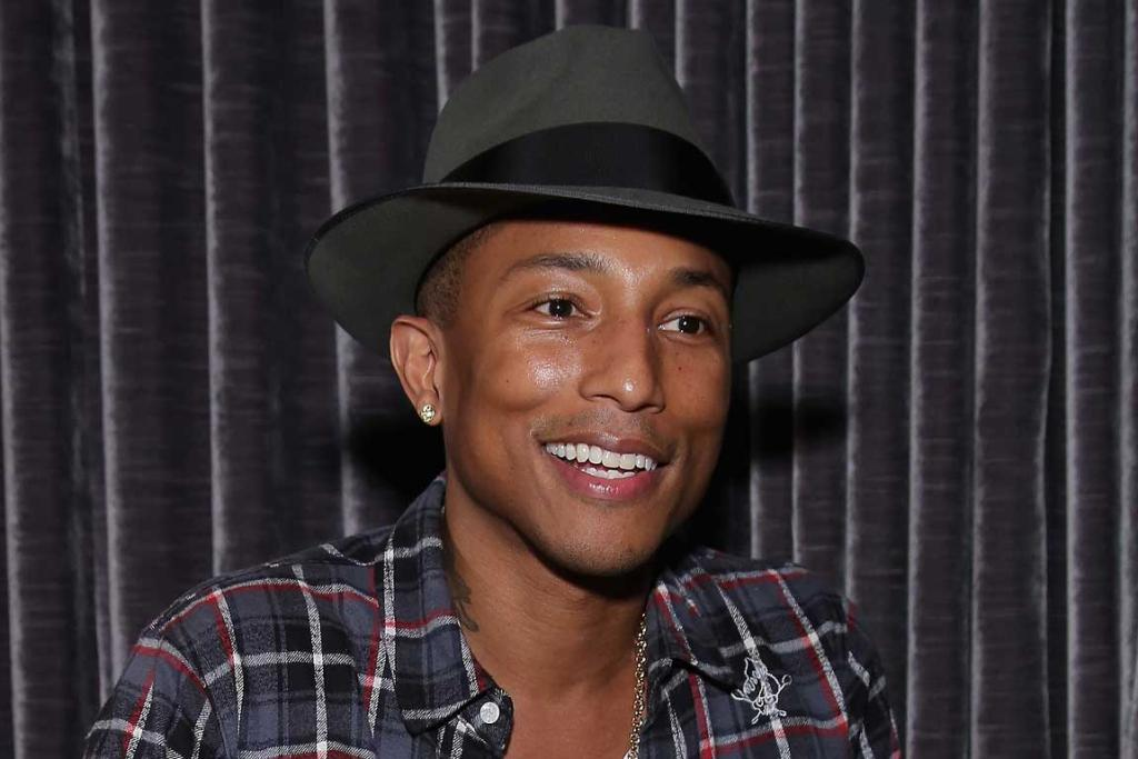 No 9: Hitmaker with sex appeal: Pharrell Williams