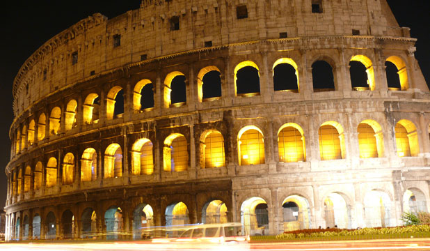 SPECTACULAR: The Coloseum in Rome stands proud as a main landmark and attraction in the Italian capital city.
