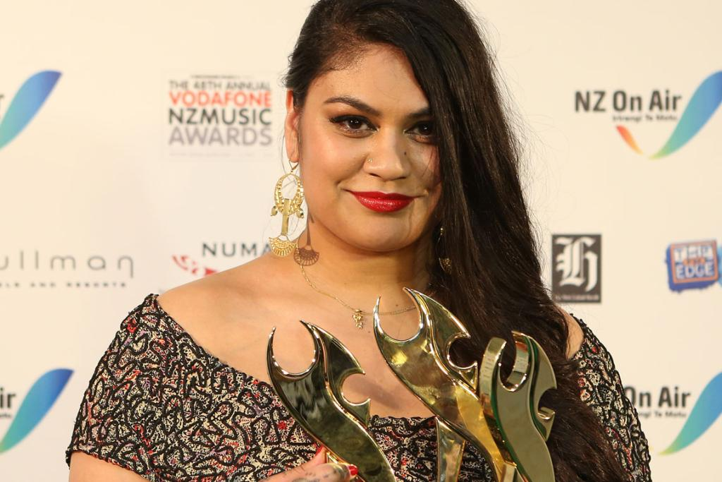 SONG BIRD: Aaradhna added three Tuis to her recent haul of musical accolades.