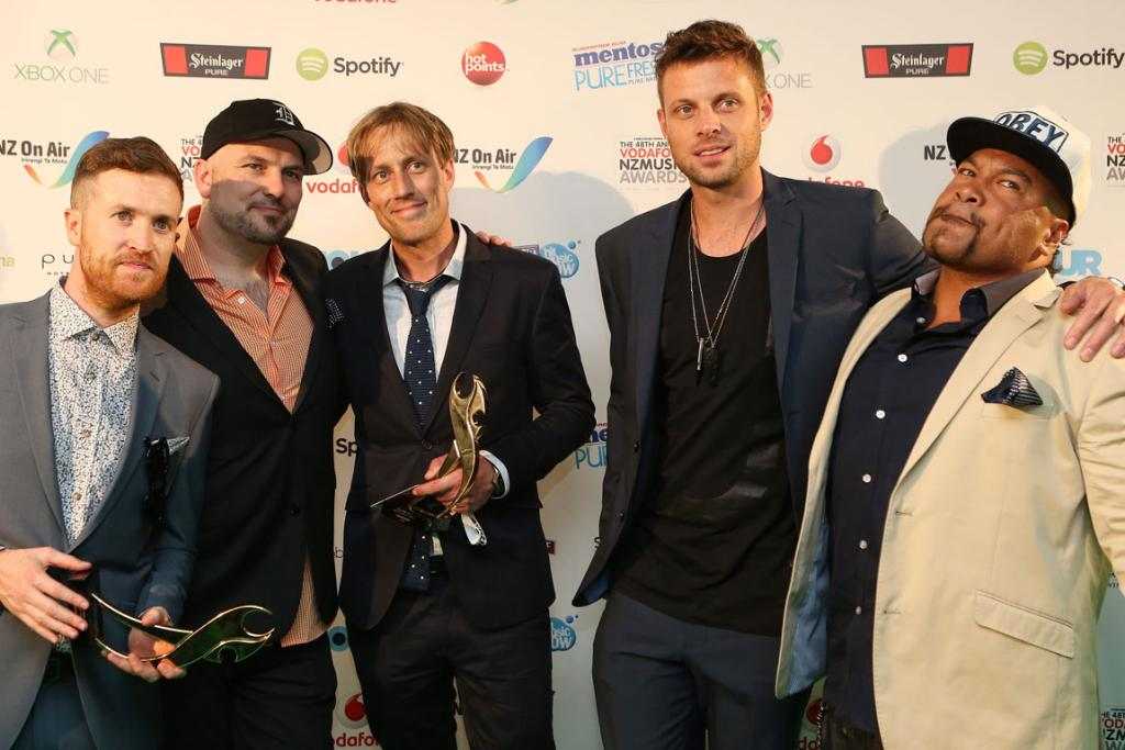 DELTA BOYS: Shapeshifter's fifth album Delta saw the group win awards for best group and best electronica album.