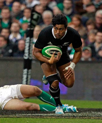 IRELAND DENIED: An injury time try to Ryan Crotty and the conversion by Aaron Cruden have stolen the win for the All Blacks.