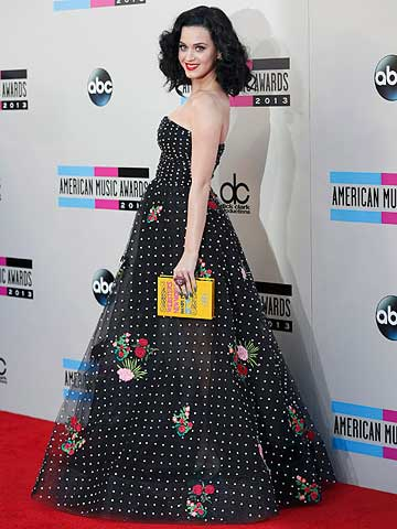 TIME TO SHINE: Katy Perry at the American Music Awards.