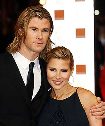 REAL-LIFE DRAMA: Chris Hemsworth, wife Elsa Pataky and their daughter were rescued from the Atlantic Ocean.