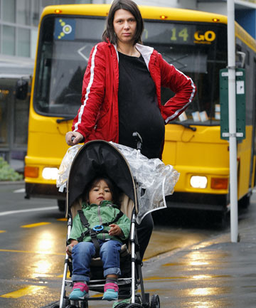 Jane Crichton was warned by a bus driver that she would not be allowed on a Go Wellington bus with a stroller