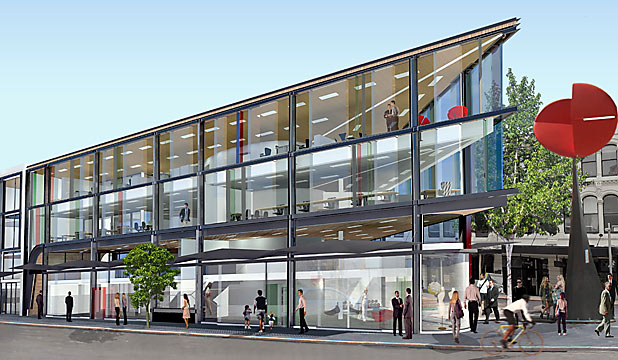 ARTISTS IMPRESSION: The High St building will open by February.