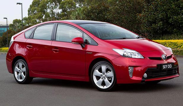 FOUR WHEEL FUN: Toyota has promised that its next-generation Prius will be fun to drive.