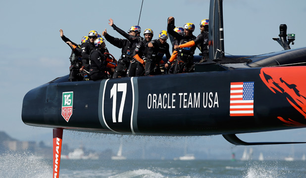 THE EDGE: It has been confirmed just how Oracle's foiling technology gave them the advantage.