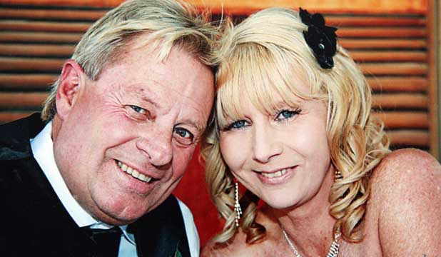 UNEXPECTED LOVE: Steve and  Lorinda Nottingham married two years ago after meeting on a blind date in 2009.