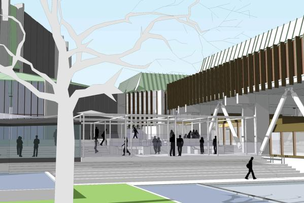 Christchurch Town Hall design