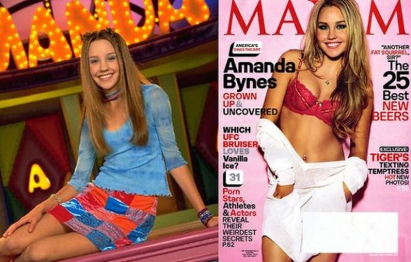 Child stars who have stripped off