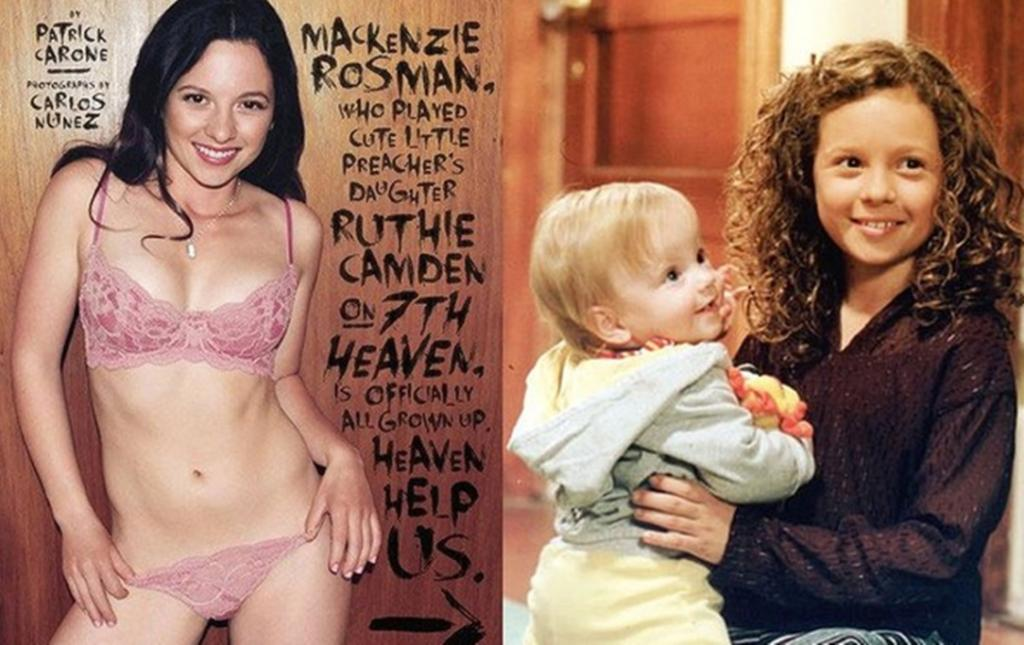 And the shock of the year was provided by former '7th Heaven' star Mackenzie Rosman.