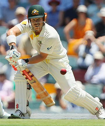 IN THEIR SIGHTS: David Warner is set to be a target of taunts from the Barmy Army.