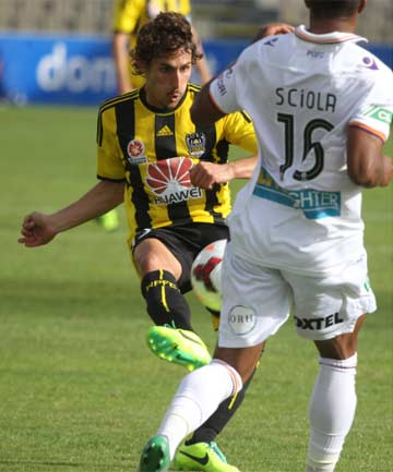 SPANISH ANGEL: Albert Riera's path to the Wellington Phoenix has been unconventional.