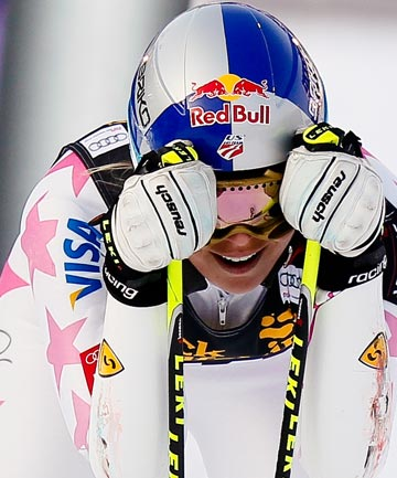 NEARLY READY: Lindsey Vonn is energized by her progress in recovering her latest knee injury.