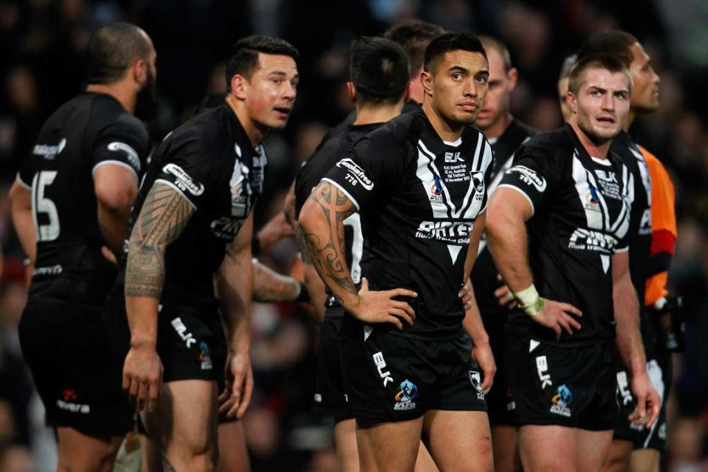 Dejected Kiwis