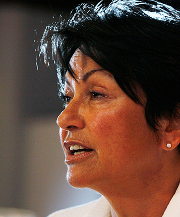 NO COMMENT: Hekia Parata says she cannot comment on the embargoed report.