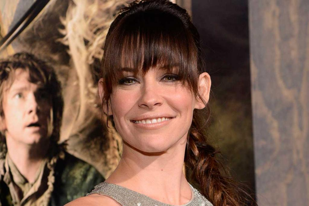 Evangeline Lilly attends the premiere of The Hobbit: The Desolation of Smaug in Los Angeles.