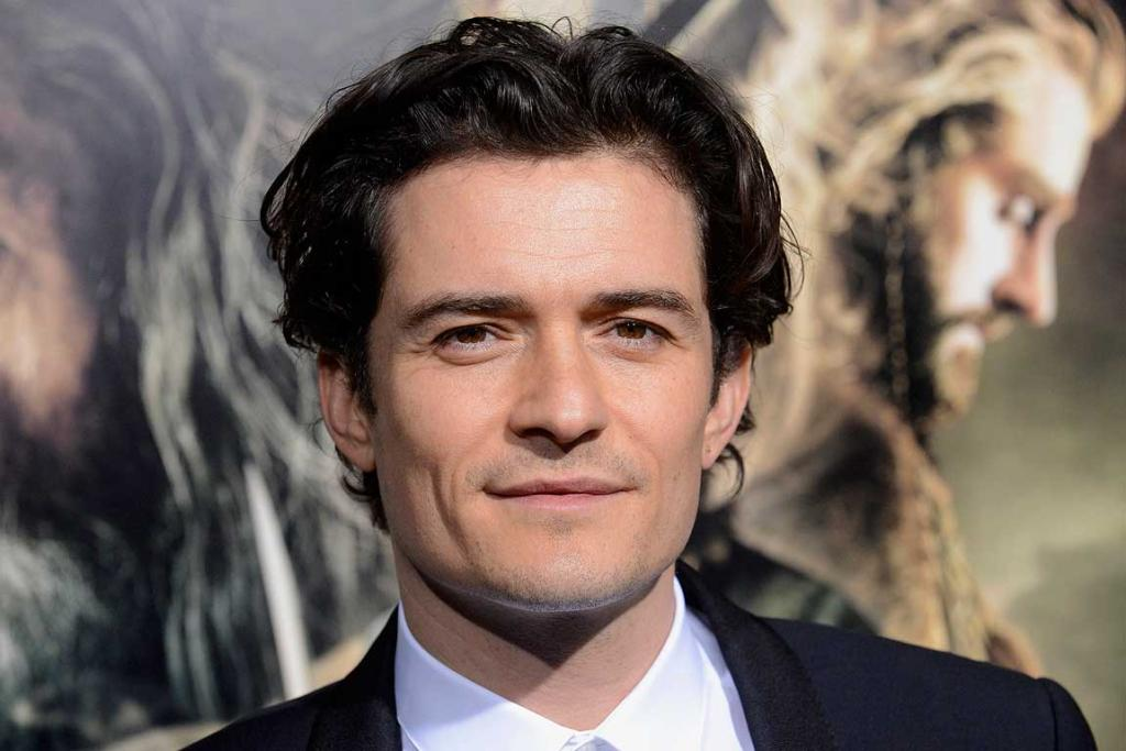 Orlando Bloom attends the premiere of The Hobbit: The Desolation of Smaug in Los Angeles.