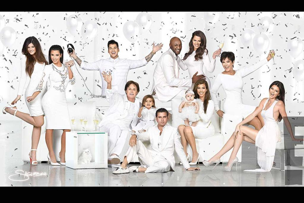The Kardashian Christmas card is here | Stuff.co.nz