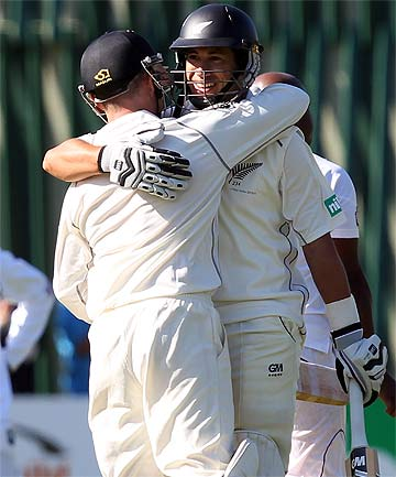 Ross Taylor and Brendon McCullum