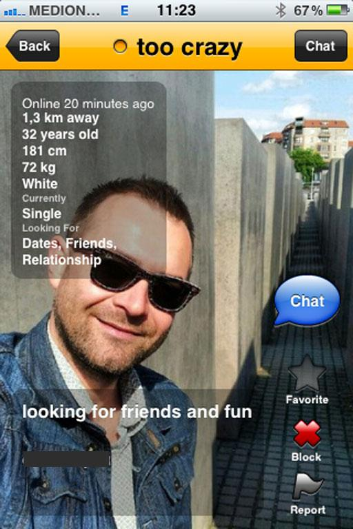 I can't decide if Grindr pics at the Holocaust Memorial are a heartening show of newfound freedom or a massive display of disrespect. Probably the latter.