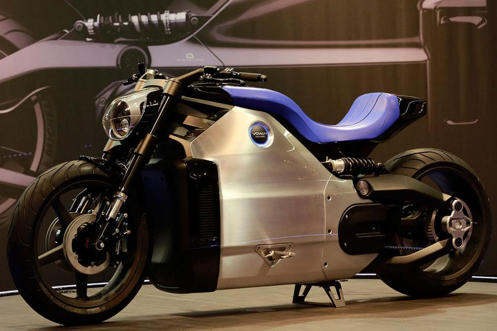 Voxon Motorcycles and Venturi have teamed together to produce the Wattman, the world's most powerful electric motorcycle.