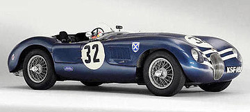 This 1952 Jaguar C-Type two-seat sports racing roadster sold for NZ$5,821,734 at auction in the UK.