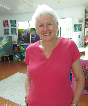 WELCOME: Judith Moore-Chisholm is inviting the public to her Glen Eden studio this Sunday.