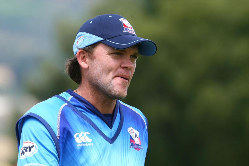 Former New Zealand batsman Lou Vincent in action for Auckland last year.