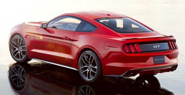 The 2015 Ford Mustang.