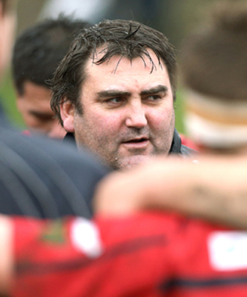 TAKING CHARGE: Shane Enright will coach the Timaru Boys' High School first XV in 2014 with Ken Wills.