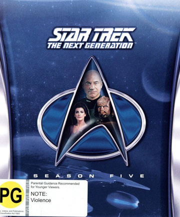 Blu-ray review: Star Trek: The Next Generation - Season 5