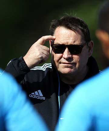 ONWARDS AND UPWARDS: Steve Hansen says there is room to improve despite this year's successes.