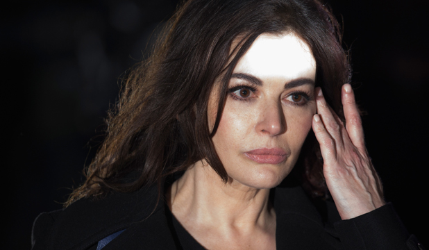 UNDER PRESSURE: Nigella Lawson leaves Isleworth Crown Court in London after another harrowing day of testimony.