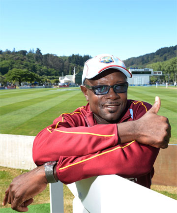 BATTING LEGEND: West Indies manager Richie Richardson.