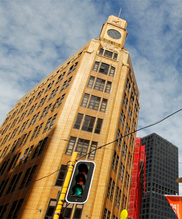 QUAKE GRANT: Owners of the MLC building in Lambton Quay have been granted $60,000 for quake strengthening.