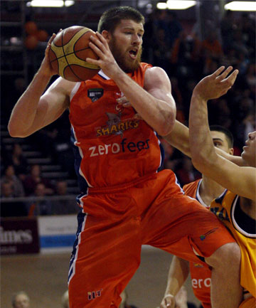 BIG NAME: The Southland Sharks have managed to get the signature of American Brian Conklin for the second season, with him returning in 2014.