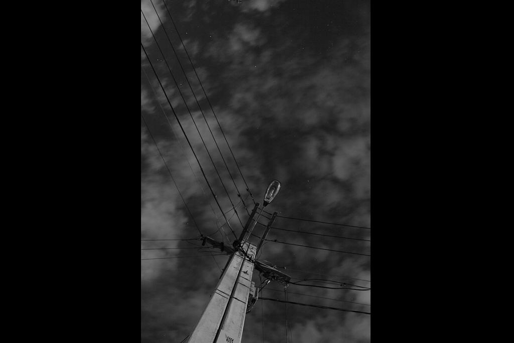 CODY BRIDGE: Broken Streetlight lit by Moon (Young Adults Category)