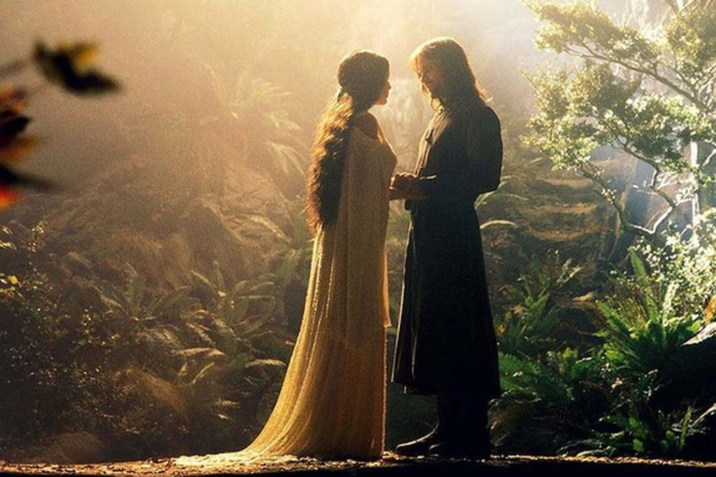 The Lord Of The Rings - Hey, you want to talk about genuine compromise? How about forgoing eternal life in order to spend a few good decades with the man you love? Way to go, Arwen and Aragorn!