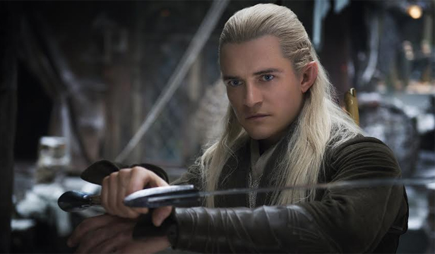 """Fighting chance:  """"I had no expectation whatsoever. Never thought of it, actually,"""" says Bloom on returning to Middle-earth as Legolas the elf."""