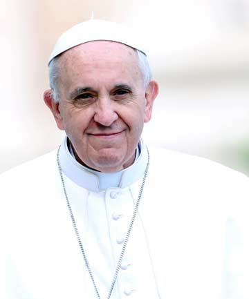 PERCEPTION CHANGER: Pope Francis, Time magazine's Person of the Year.