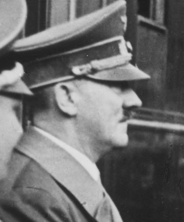 BEST LEFT IN THE PAST: Adolf Hitler's work Mein Kampf won't be reprinted by German authorities when its copyright expires in 2015.