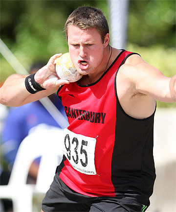 NEW RECORD: For the second time in less than a week, shot putter Tom Walsh has reset the New Zealand record.