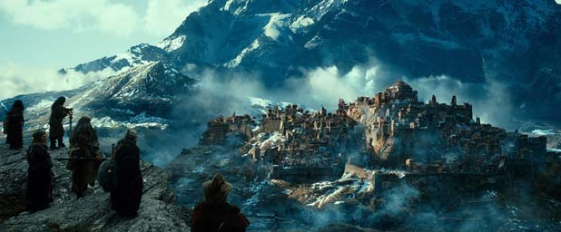 JACKSON'S VISION: A scene from The Hobbit: The Desolation of Smaug.