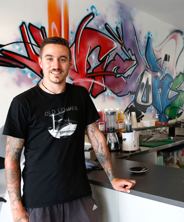 A WIN FOR VICTORY: Hanan Powell manager of the YMCA's Cafe Victory plans to bring a 'strong youth focus' to the eatery.