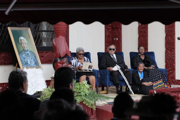 Mandela memorial service at Turangawaewae