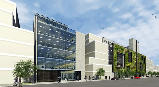 FUTURE FACADE: Ocean Partners has proposed a development on the Lichfield St car park site in Christchurch.