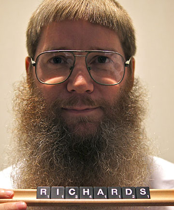 Nigel Richards is said to be the world's greatest Scrabble player
