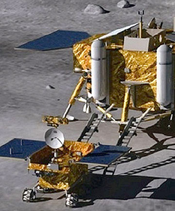 Chang'e 3 and Yutu rover