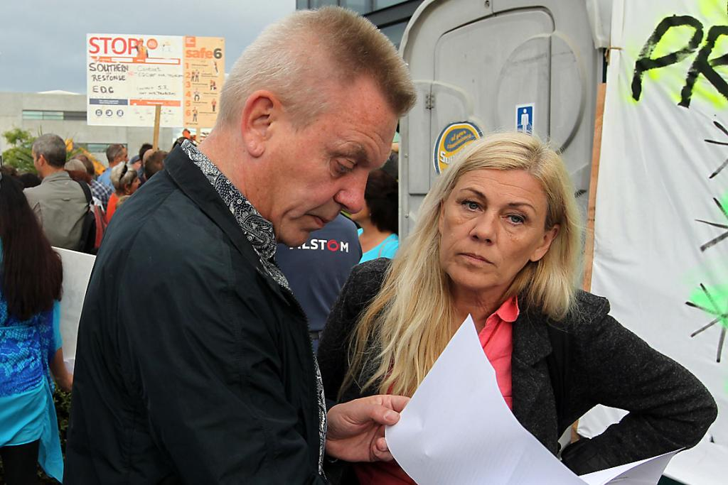 UNHAPPY: Hugo and Emma Kristinsson were told their original engineer was working illegally.